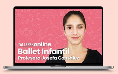 Talleres online: Ballet Infantil