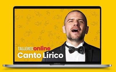 Talleres online: Canto Lírico