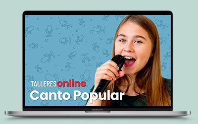 Talleres online: Canto Popular