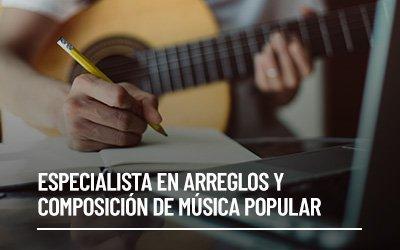 Especialista en Arreglos y Composición de Música Popular