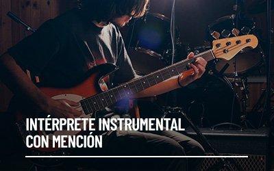 Intérprete Instrumental con Mención