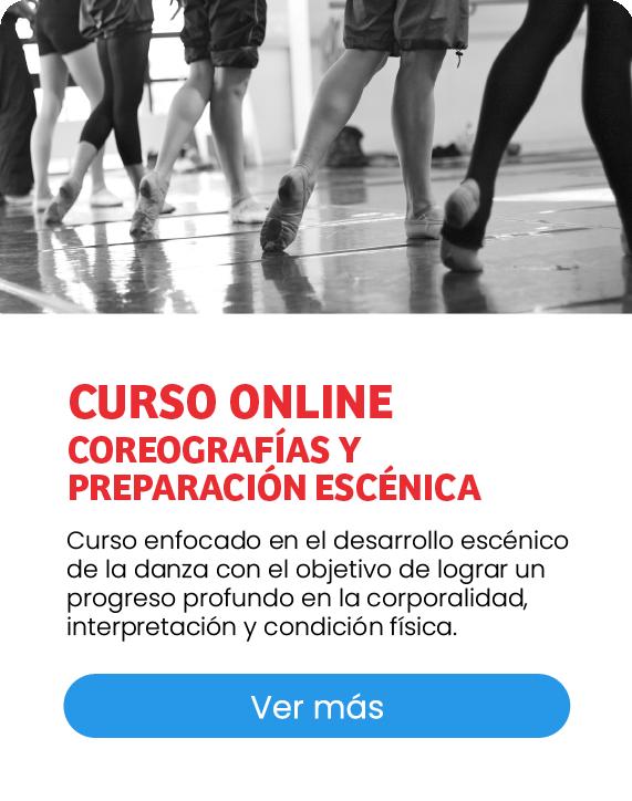 Curso online de Coreografías y Preparación Escénica